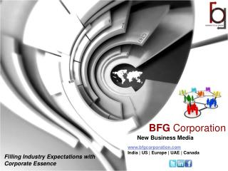 BFG Corporation- New Business Media (NBM)