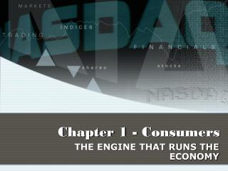 Chapter 1 - Consumers