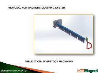 PROPOSAL FOR MAGNETIC CLAMPING SYSTEM