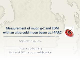 Measurement of muon g-2 and EDM with an ultra-cold muon beam at J-PARC