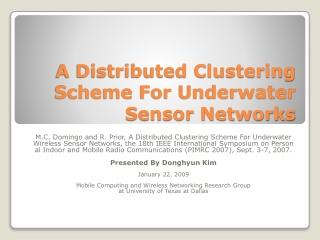 CDMA Cell Design Phase 1