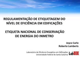Joyce Carlo Roberto Lamberts