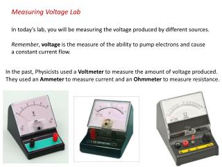 Measuring Voltage Lab