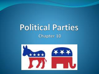 Political Parties   Chapter 10