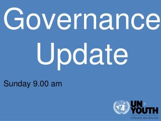 Governance Update