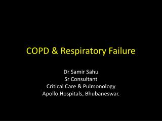 COPD & Respiratory Failure