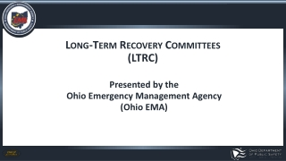 Long-Term Recovery Committees (LTRC)