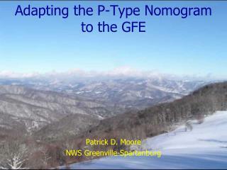 Adapting the P-Type Nomogram to the GFE
