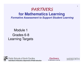 Process Standards: Teaching and Learning Mathematics