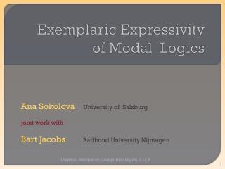 Exemplaric Expressivity of Modal Logics