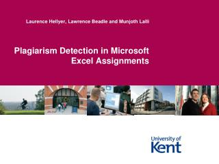 Plagiarism Detection in Microsoft Excel Assignments