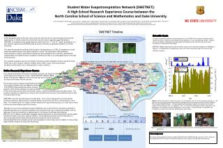 Student Water  Evapotranspiration  Network (SWETNET):