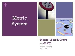 Meters, Liters & Grams …Oh My!