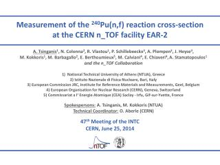 Measurement of the  240 Pu( n,f ) reaction cross-section at the CERN  n_TOF  facility EAR-2