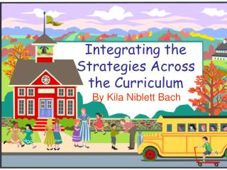 Integrating the Strategies Across the Curriculum