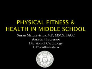 Physical Fitness & Health in Middle School