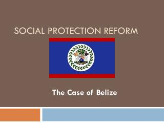 Social Protection Reform