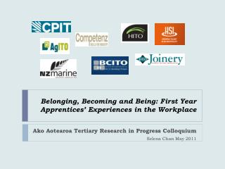 Belonging, Becoming and Being: First Year Apprentices' Experiences in the Workplace