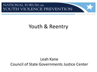Youth & Reentry