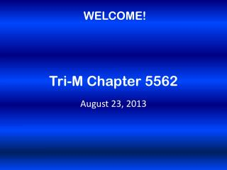 Tri-M Chapter 5562