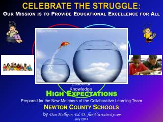 Prepared for the New Members of the Collaborative Learning Team Newton County Schools