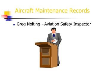 Aircraft Maintenance Records