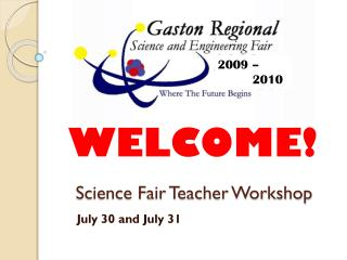 Science Fair Teacher Workshop