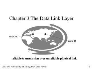 Chapter 3 The Data Link Layer