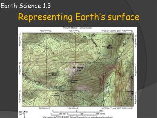 Earth Science 1.3