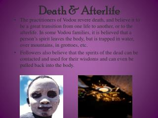 Death & Afterlife