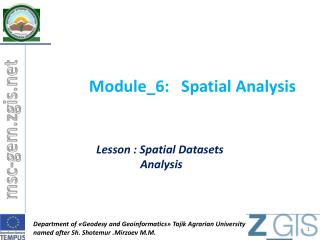 Module_6: Spatial Analysis