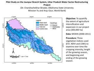 Pilot  Study on the  Jaunpur  Branch System, Uttar Pradesh Water Sector Restructuring Project