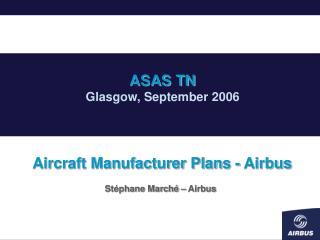 Aircraft Manufacturer Plans - Airbus