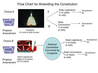 Flow Chart for Amending the Constitution