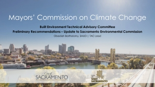 Mayors' Commission on Climate Change