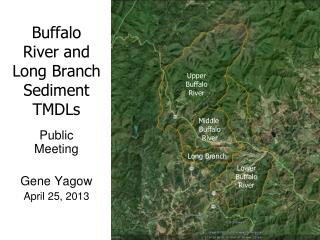 Buffalo River and Long Branch Sediment TMDLs