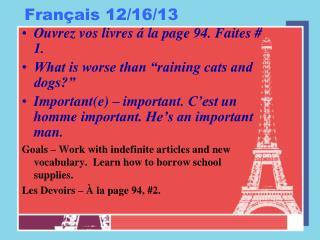 Français 12/16/13