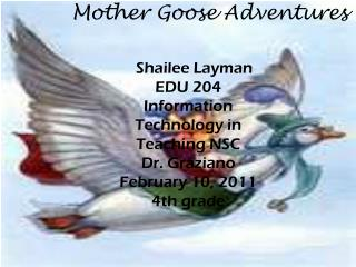 Mother Goose Adventures
