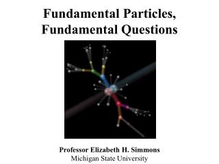 Fundamental Particles,   Fundamental Questions