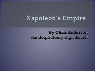 Napoleon's Empire