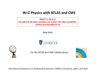 W+Z  Physics with ATLAS and CMS