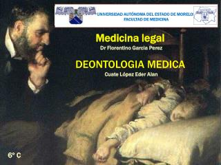 Medicina legal DEONTOLOGIA MEDICA