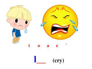 l __    (cry)