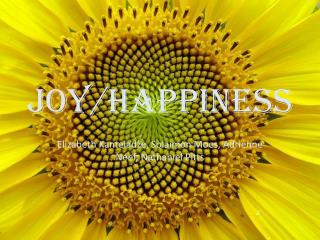 Joy/Happiness