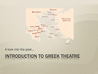 Introduction to Greek Theatre