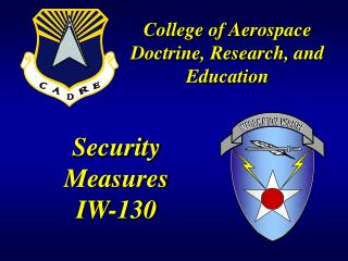 Security Measures IW-130