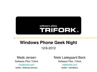 Windows Phone Geek Night