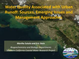 Water Quality Associated with Urban Runoff: Sources, Emerging Issues and Management Approaches