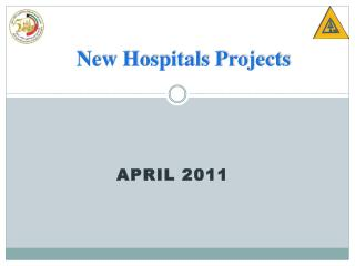 New Hospitals Projects