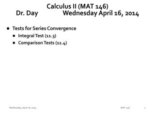 Calculus II (MAT 146) Dr. Day		Wednesday April 16, 2014